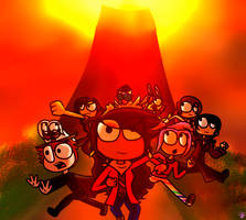 Poptropica: Battle for Volcano Island by ANNE14TCO