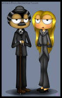 The Mayor and his Wife of Poptropica City by ANNE14TCO