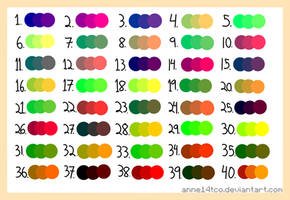 Random 3-Color Palette ((Free to use)) by ANNE14TCO