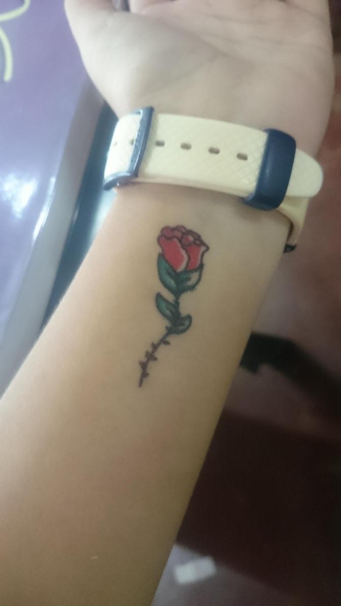 Rose Tattoo by ANNE14TCO