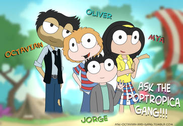Ask Octavian and Gang Blog! (link in description) by ANNE14TCO