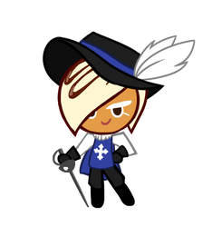 White Choco Cookie's Musketeer (Contest Entry)