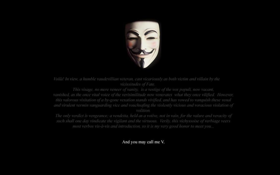 V for Vendetta by PleinairBunny