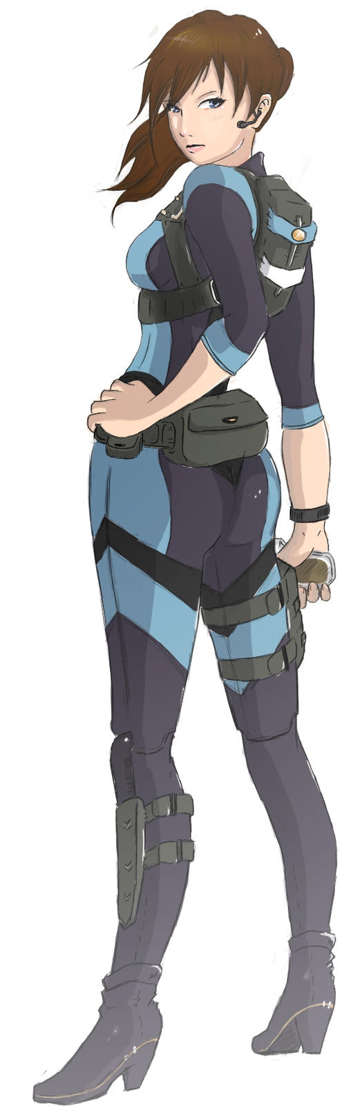 Jill Valentine of Resident evil Revelations by x-Marjou-x