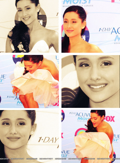Collage Ariana Grande by Kireikon13 on DeviantArt