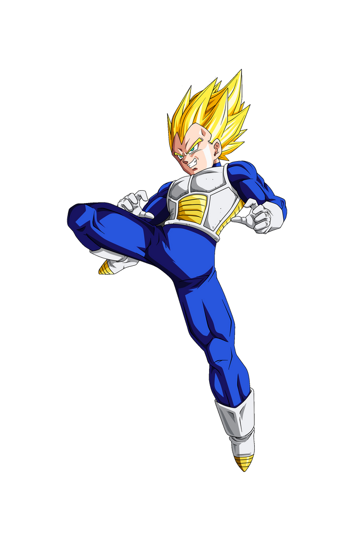 Dragon Ball Z Future Vegeta by diogouchiha on DeviantArt