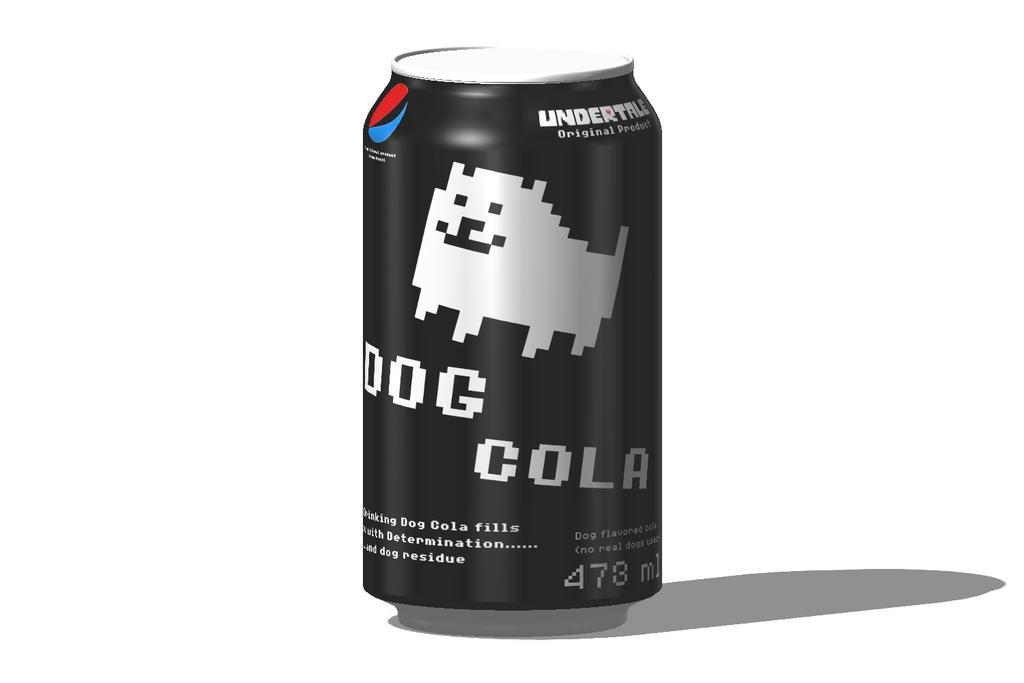 Dog Cola (Fake Product) by GrandMasterFaust18