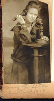 Vintage photo portrait stock 2