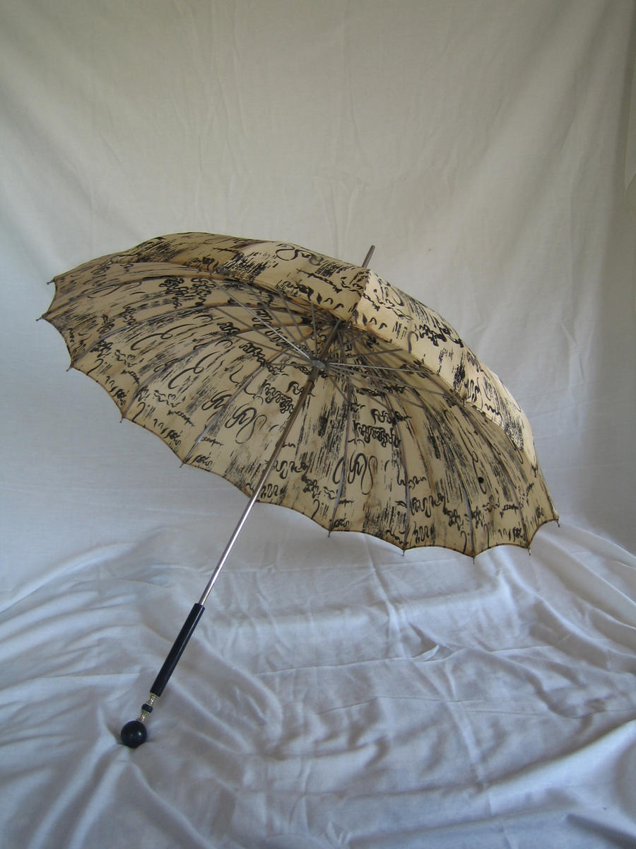 vintage umbrella 1 by Stock-Tenchigirl15