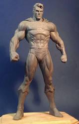 Jim Lee Superman WIP by davjames