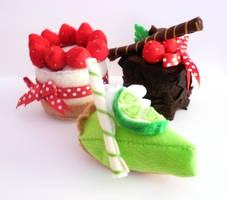 Felt Cakes by sylius