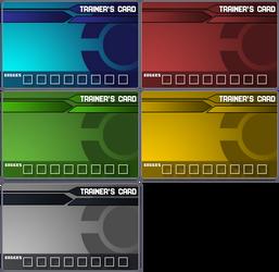 Pokemon Trainer Card Templates