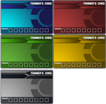 Pokemon Trainer Card Templates