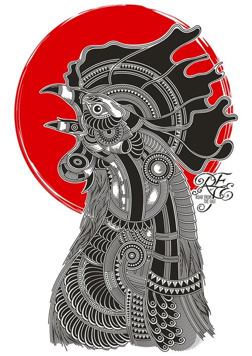 De Haantjes van Het Oosten by ngupi
