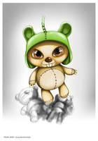 tragix bear by ngupi