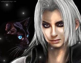 Bill as Sephiroth by ilon07