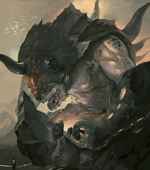 The Mjorn Magma Eater.