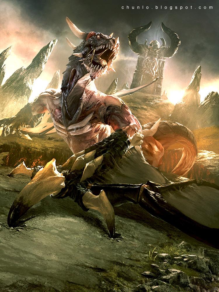Zombie Dragon by ChunLo