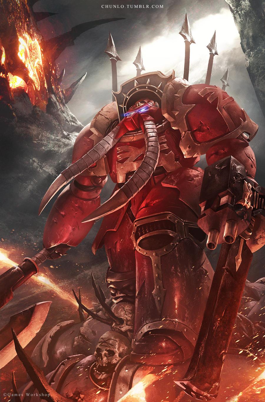 Khorne Terminator by ChunLo