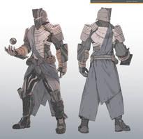 Sci-fi Armor design by ChunLo