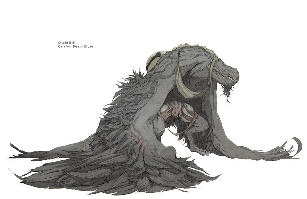 Carrion Beast Elder By Chunlo On Deviantart