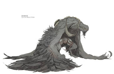 Carrion Beast Elder by ChunLo