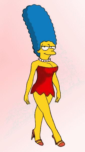 Marge as Lisa by paulibus2001