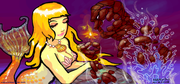 Elemental Romance by marvisionart