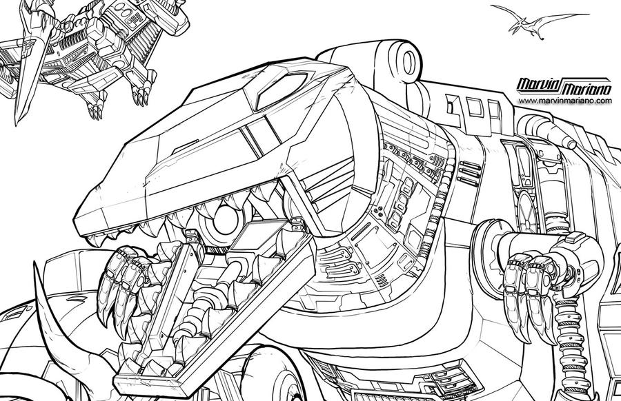 Dinobots Coloring Pages Coloring