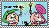 Cosmo and Wanda stamp by raldski5050