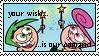 Cosmo and Wanda stamp by raldski5050