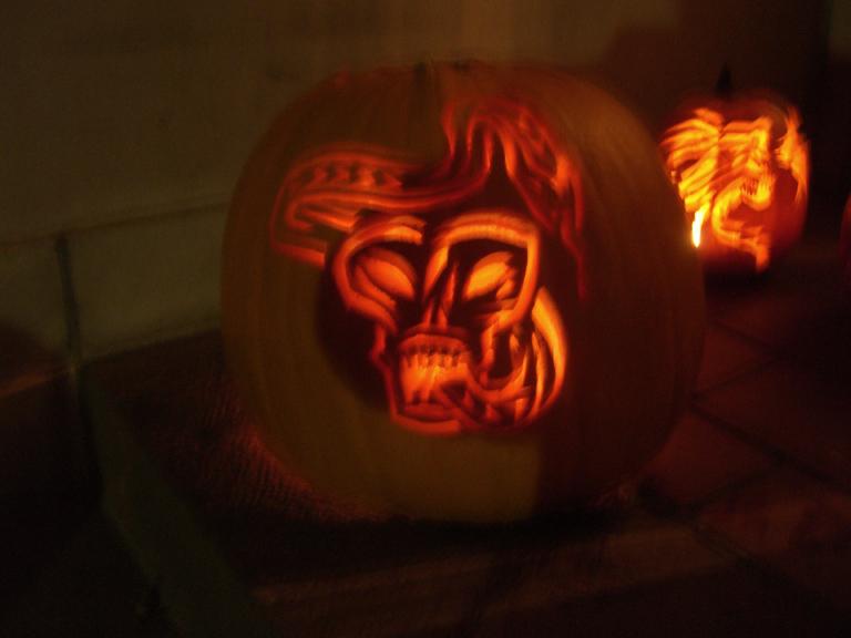 Dark mark pumpkin by ehyde on deviantart