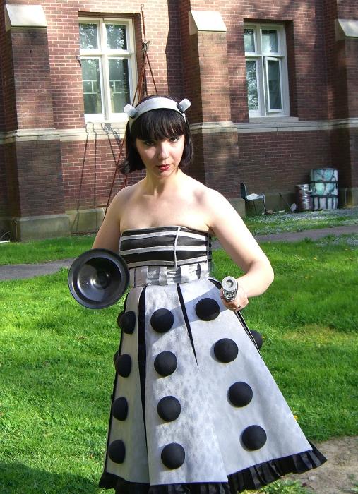 Dalek Dress by EHyde