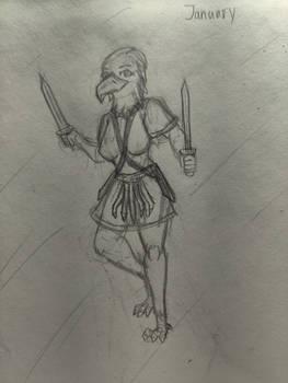 January Sketch