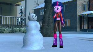 Twilight Sparkle and the Snowman