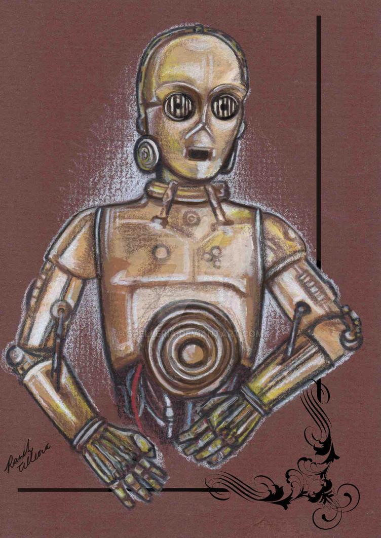 C-3PO by spelleria