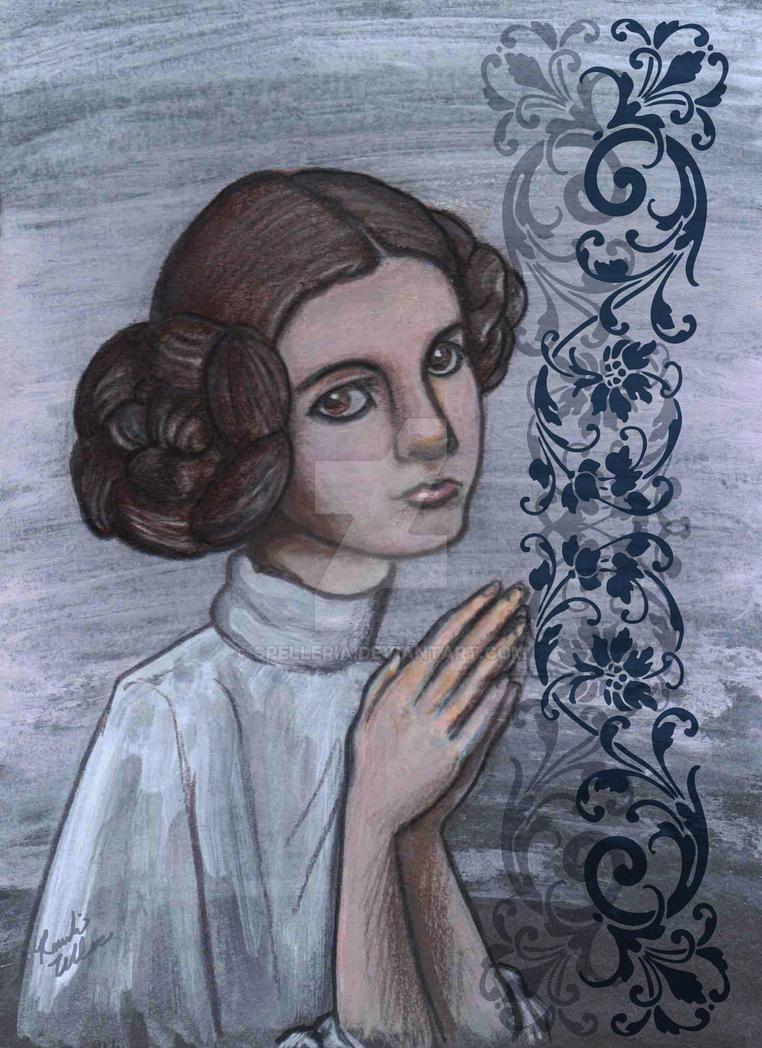 Princess Leia by spelleria