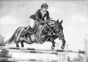 horse forward! by KeilyLush