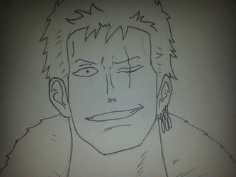 Roronoa Zoro 2, One Piece by TimeBombTom
