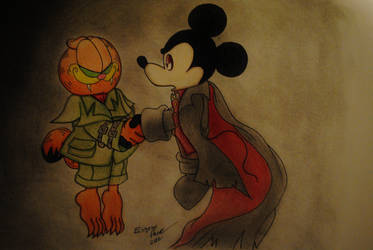 The Count and the Cat by BillyBones0704