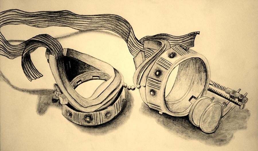 Steampunk Goggles by BillyBones0704 on DeviantArt
