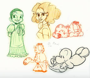Spring doodles by BillyBones0704