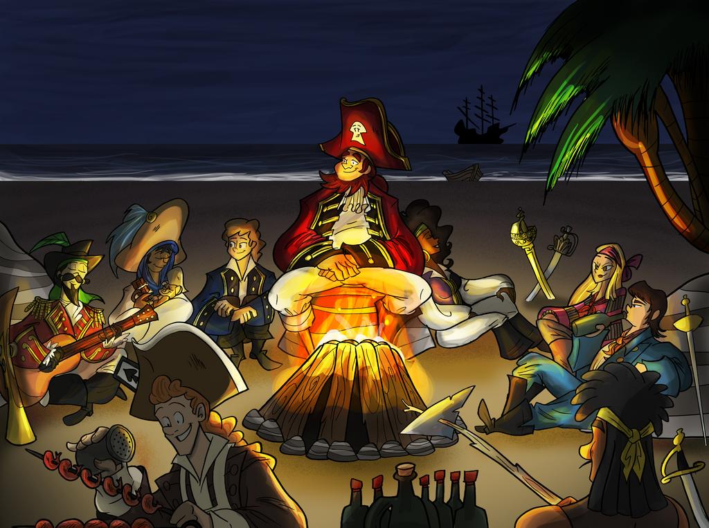 Bonfire by BillyBones0704