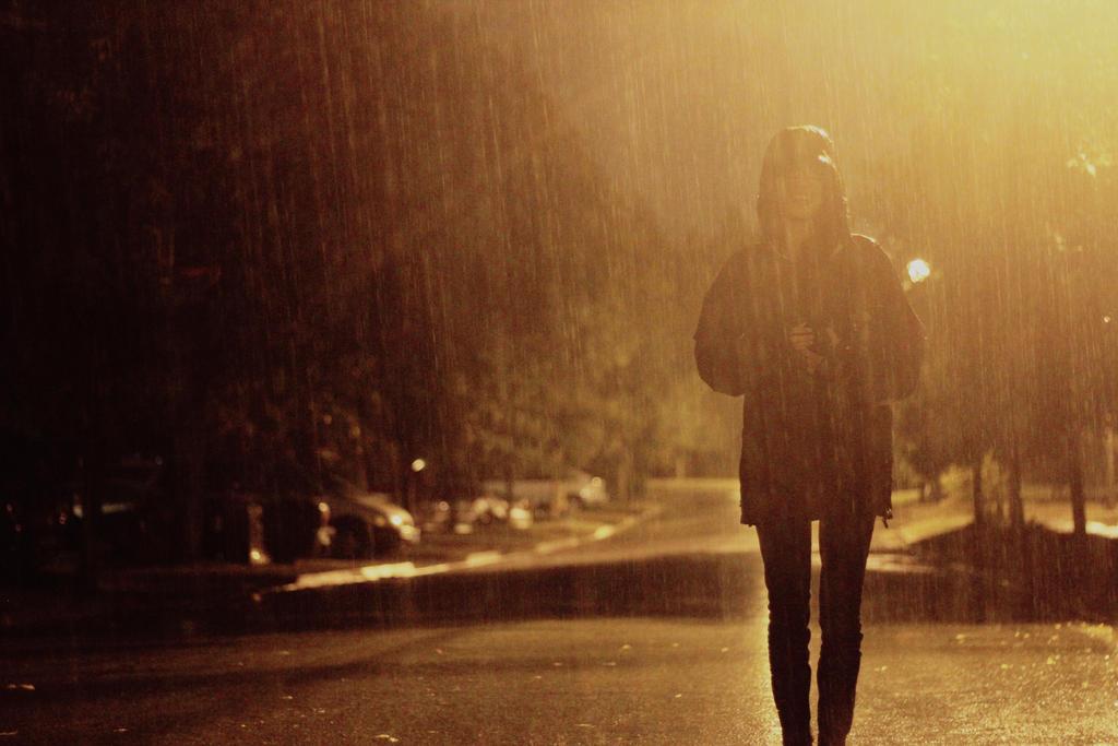 In the Rain by weruninhalflight