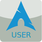 Arch Linux User stamp by CSCoder4ever