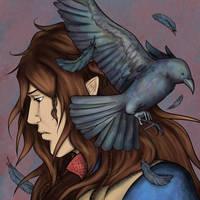 Crow Lord by Damatris