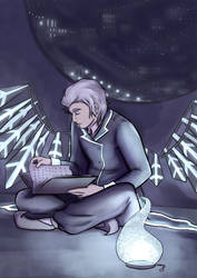 Reading in the Dark by Damatris