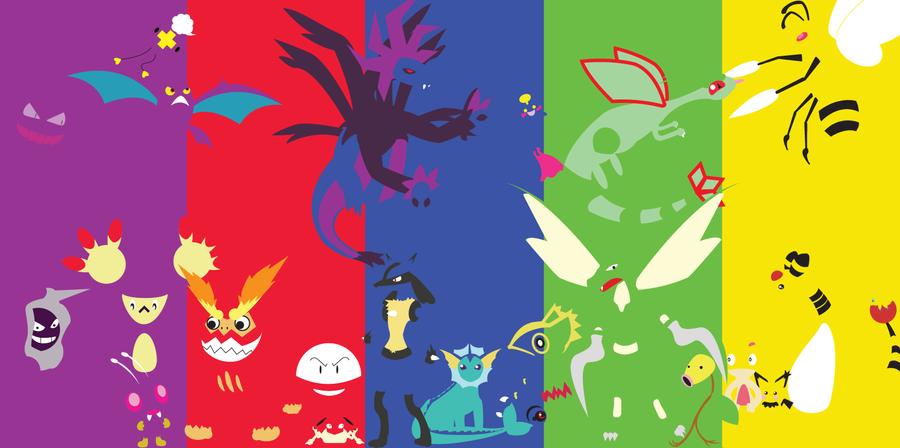 PRBGY Pokemon Wallpaper by AmpDragoness