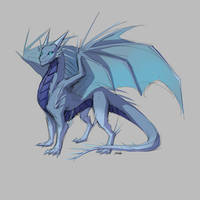 DD: Western Dragon Species: Eira by PurpleTigress
