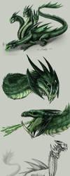 Hydra Boss Concept by PurpleTigress